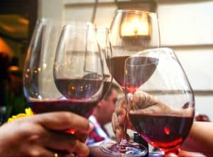 Proven Eating Behaviors to Lose Weight include wine