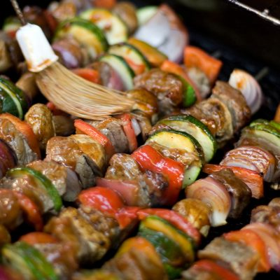 "4 Easy Lists to Plan a ""Build Your Own Kabobs"" Party"