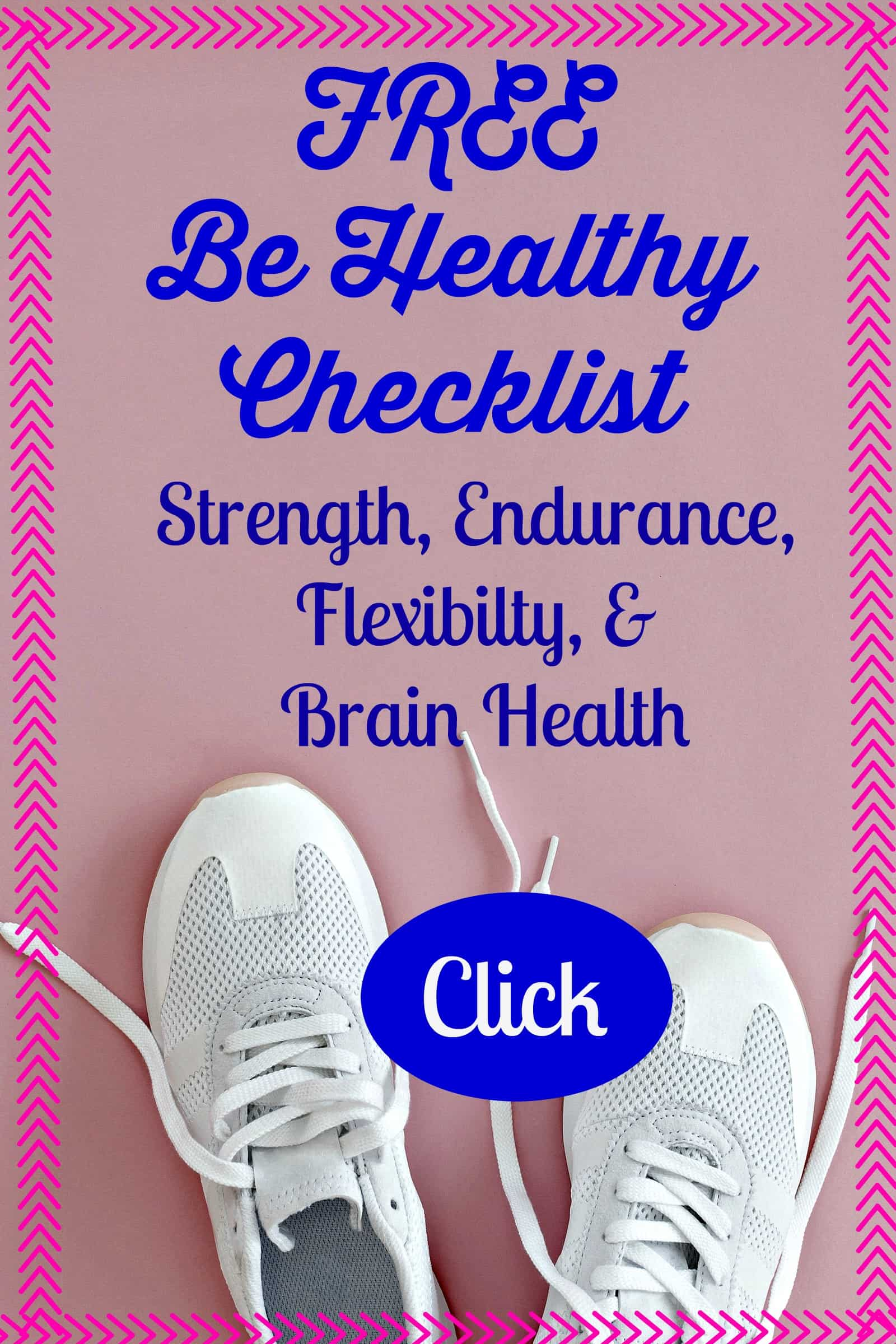stay healthy checklist