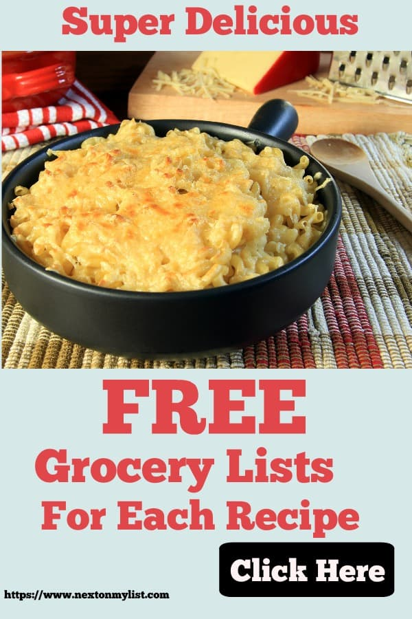 Delicious creamy Macaroni and Cheese