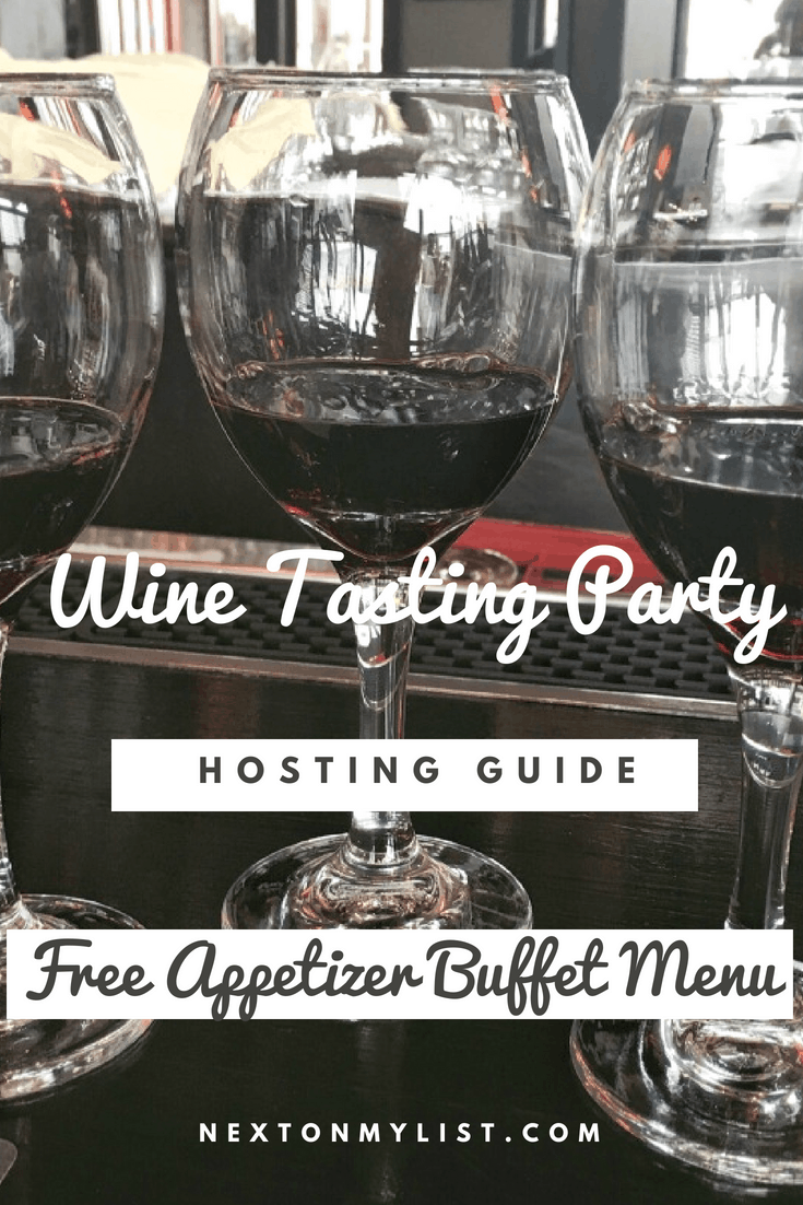 Wine Tasting Buffet