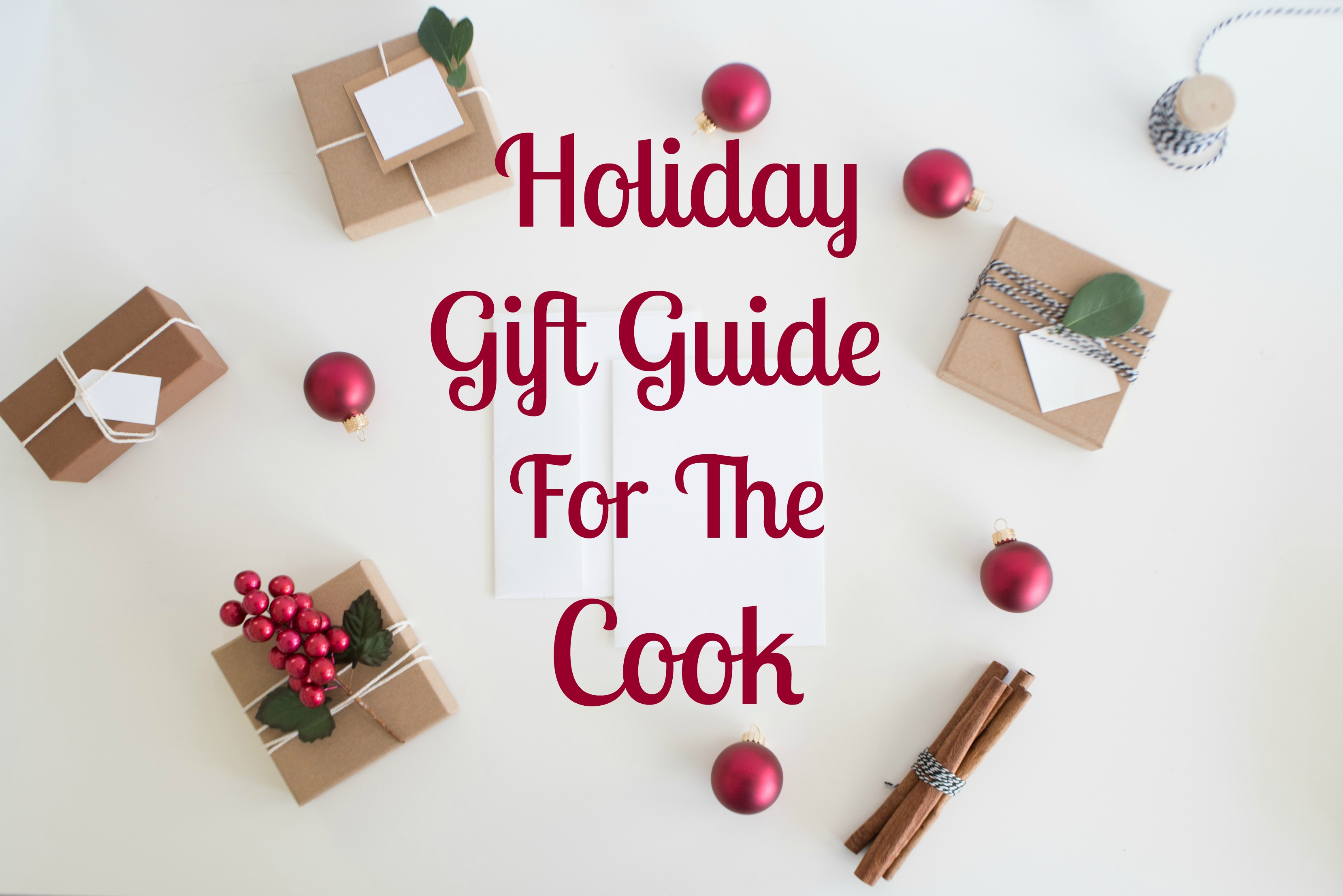 holiday gifts for the cook on the list