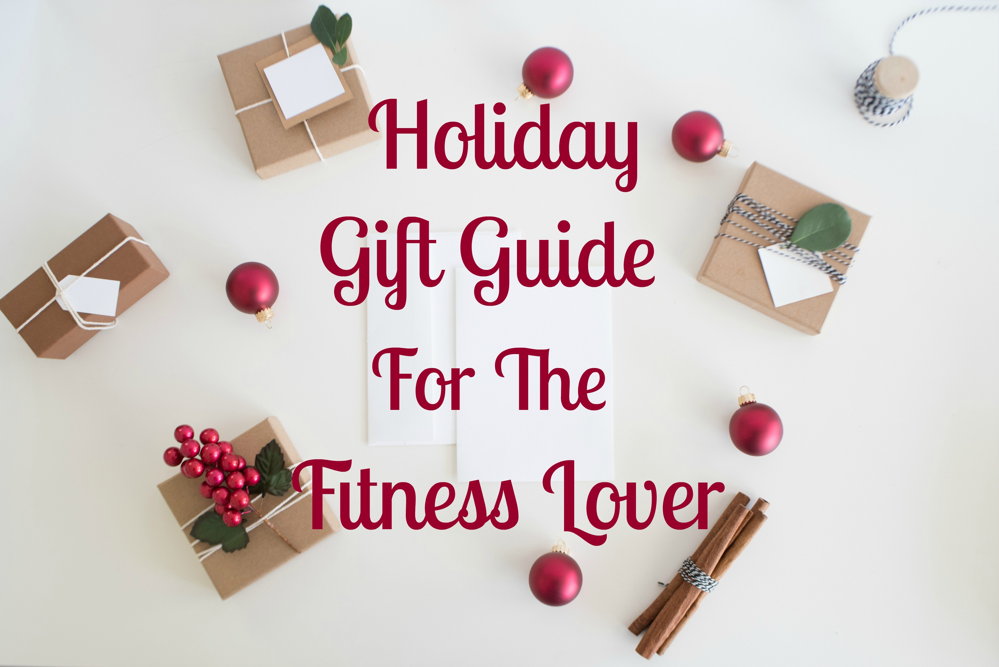 Christmas for the Fitness Lover