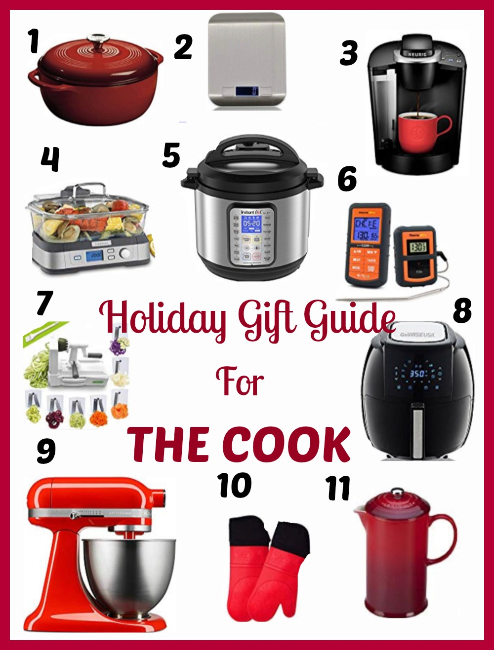 Buy Christmas Gifts for the Cook