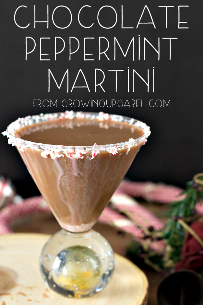 Holiday Chocolate Martini