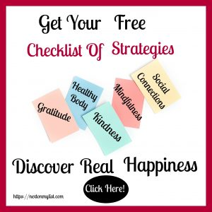 Checklist to Happiness