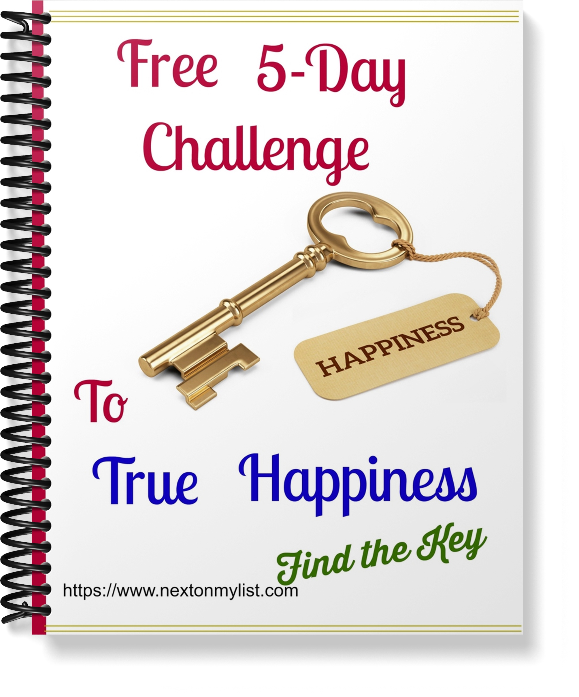 Happiness challenge key