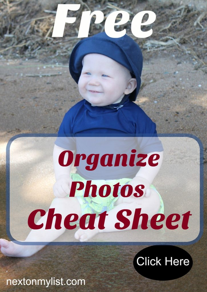 digital photo declutter and organize