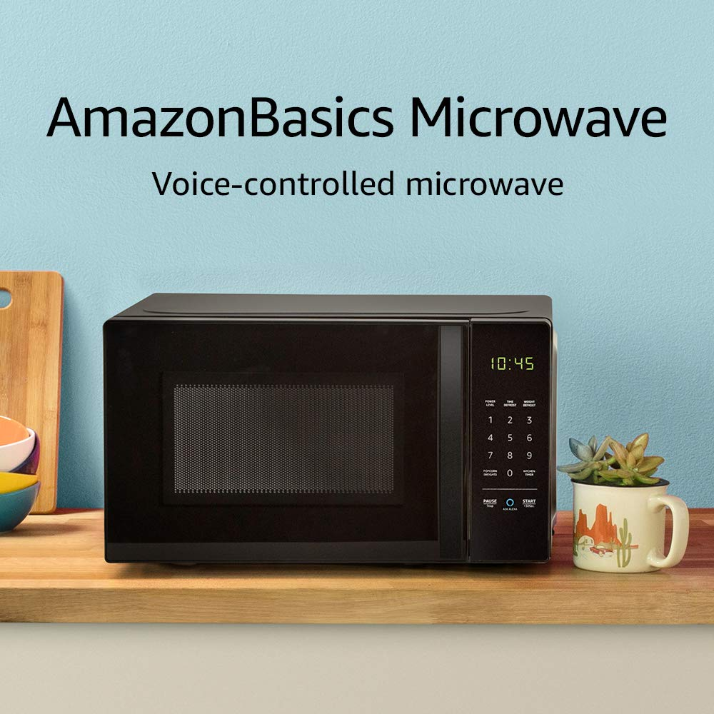 AmazonBest microwave that is controlled by Alexa.