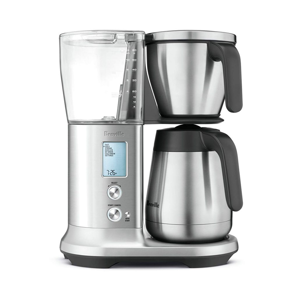 Smart Coffee Maker by Breville is a perfect addition to a smart kitchen