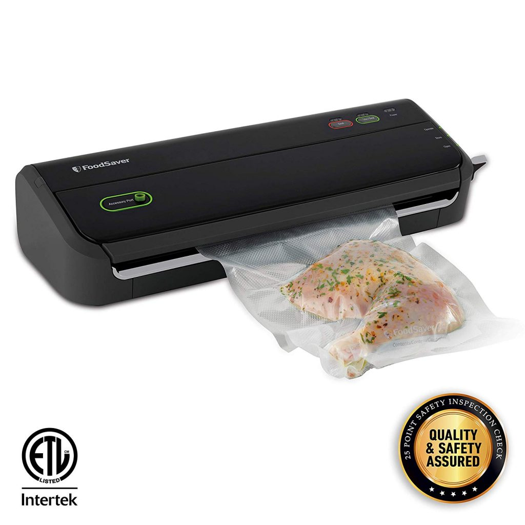 Food saver vacuum to be used with Sous Vide