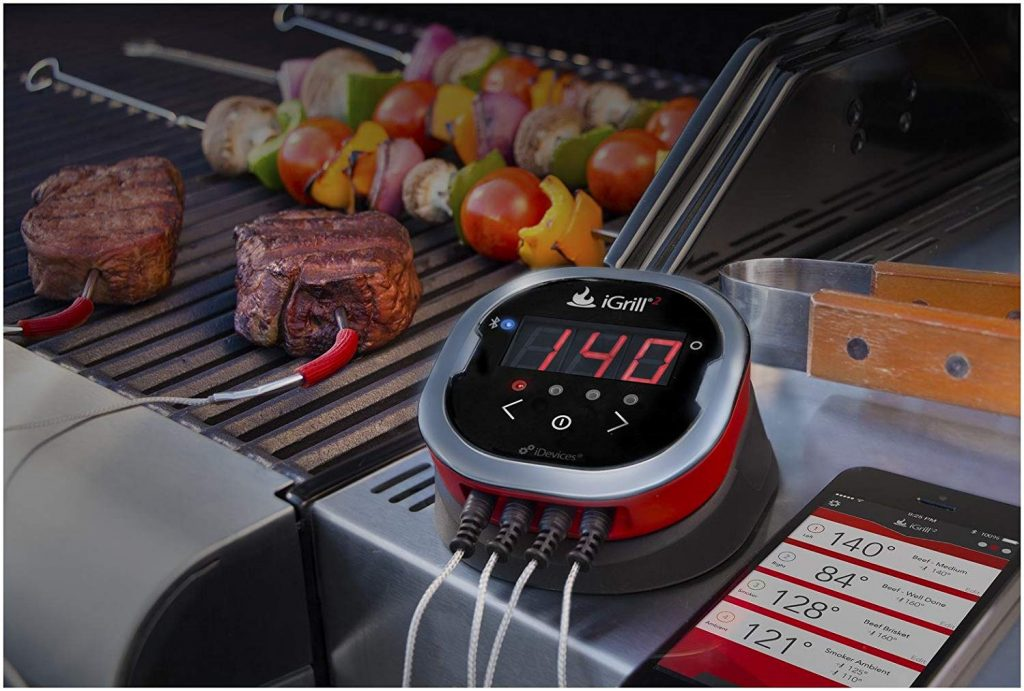 Digital Grill Thermometer with Bluetooth