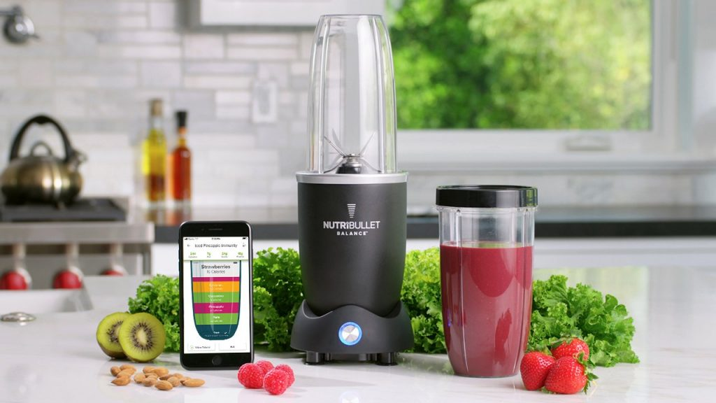 Nutribullet is a smart kitchen appliance