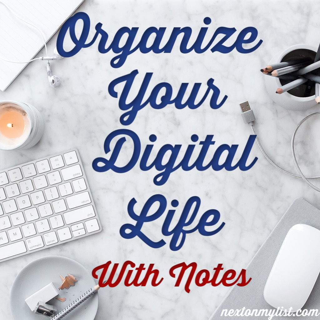 Organize Digital Life