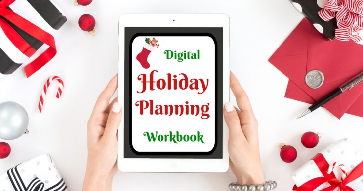 Digital Holiday Planning Workbook