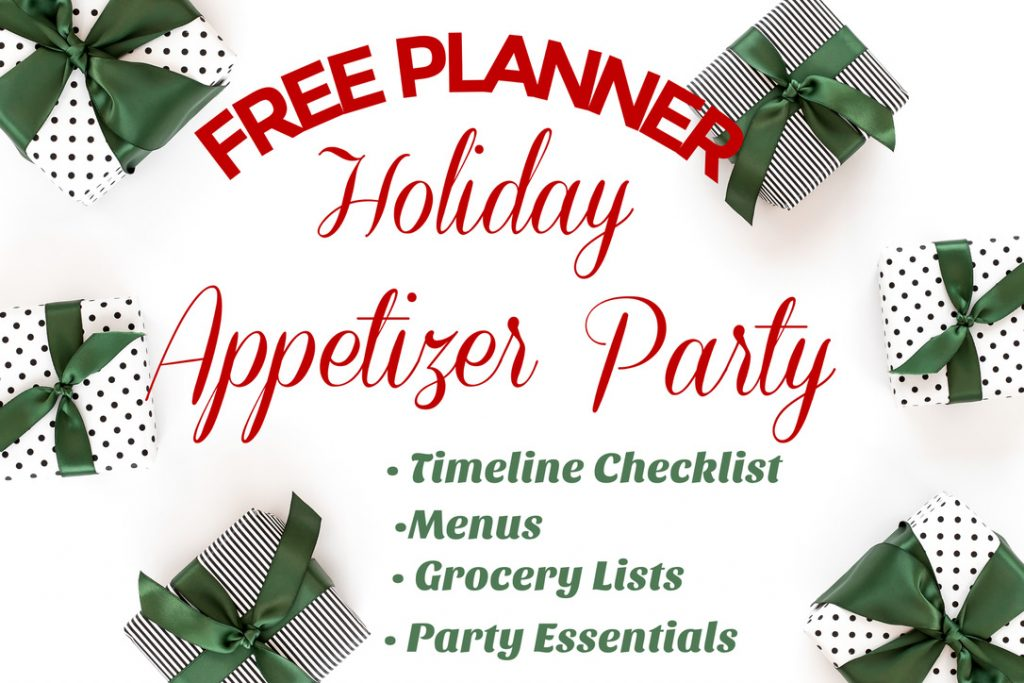 Appetizer Party for the Holidays