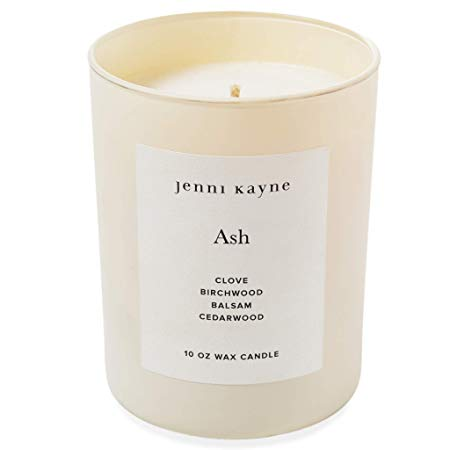 Ash Glass Candle (Nude)