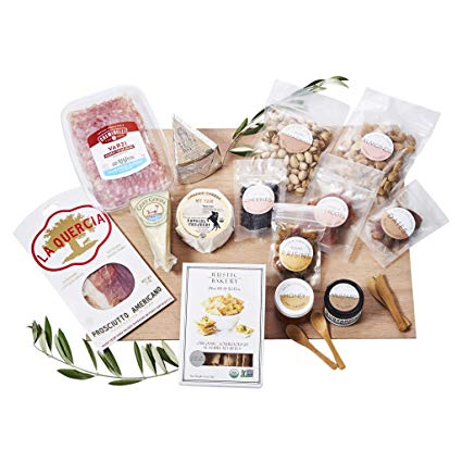 Lady and ; Larder DIY Cheese and; Cured Meat Board