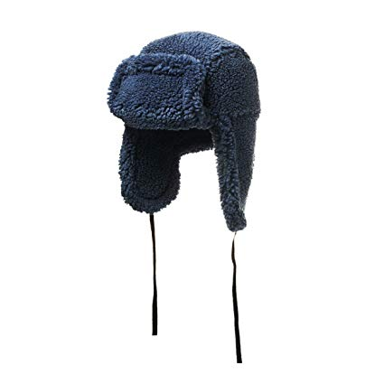 House of Fluff Faux Fur Shearling Hat-100% Recycled Post Consumer Plastic