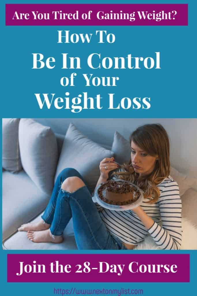 Be in control of eating behaviors no diet
