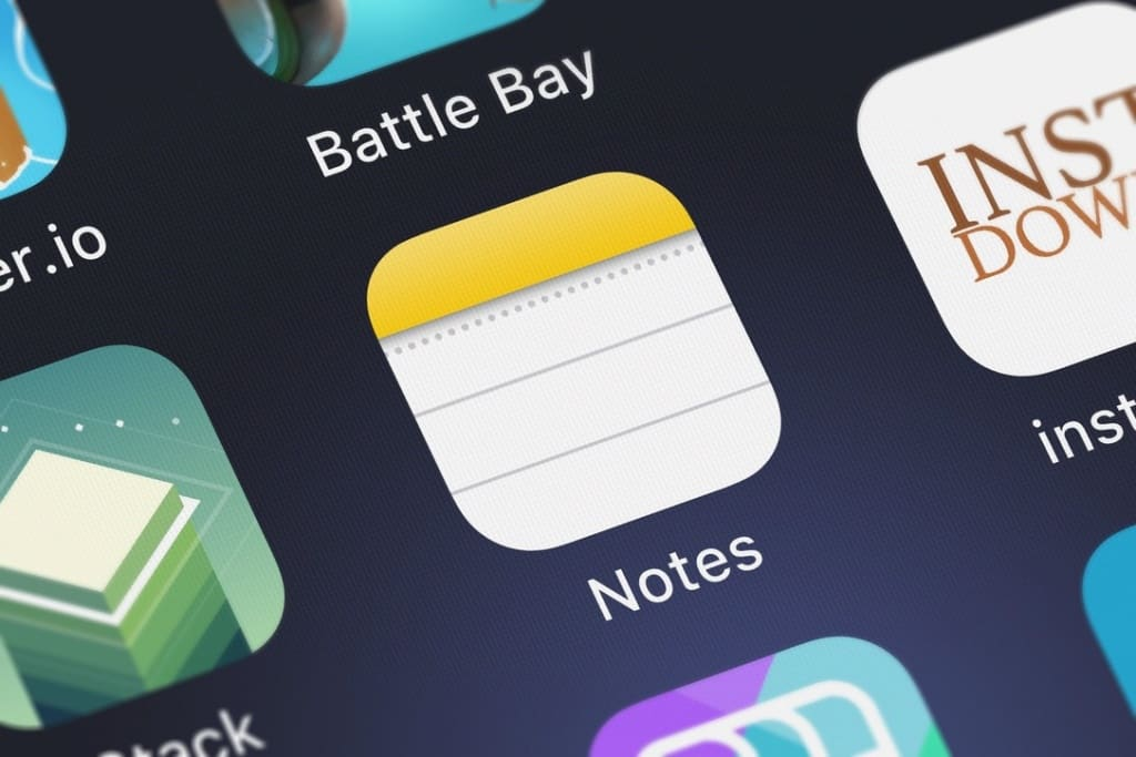 Apple Notes App