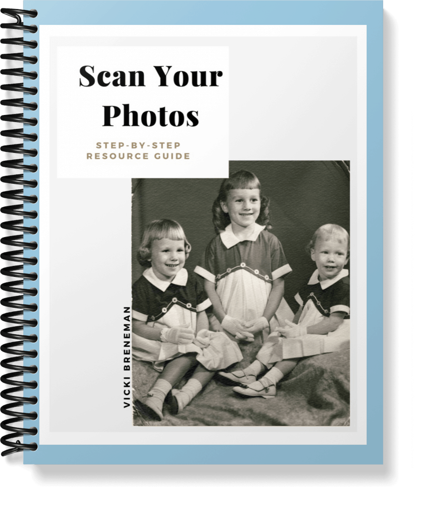 Scanning  Photo Guide