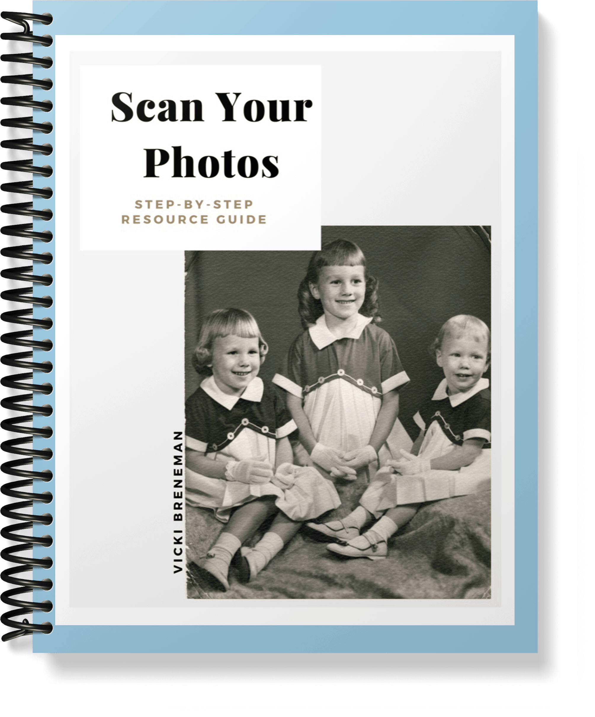 scan photos to save memories