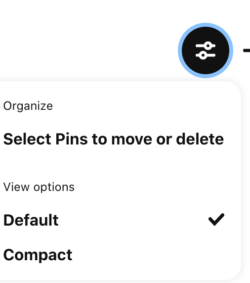 How to move pins in pinterest