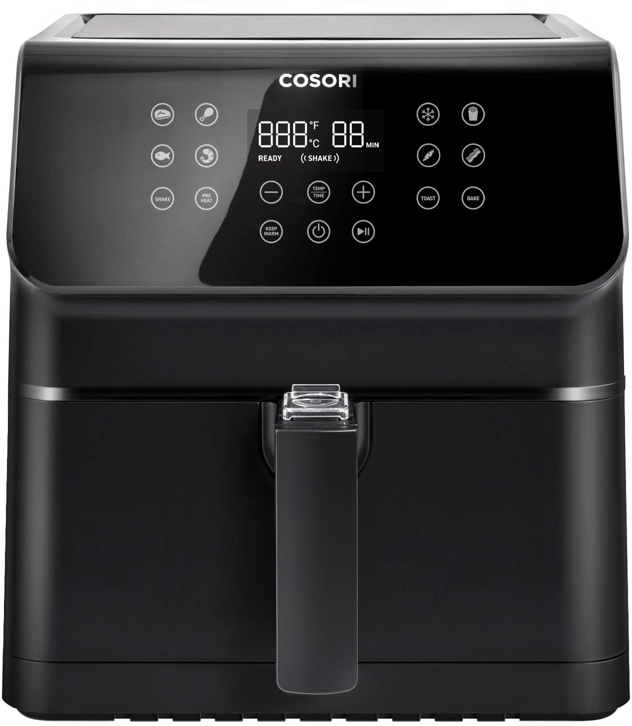 COSORI Air Fryer, Large XL 5.8 Quart 1700-Watt Air Fryer Oven & Oilless Cooker with Cookbook(100 Recipes)