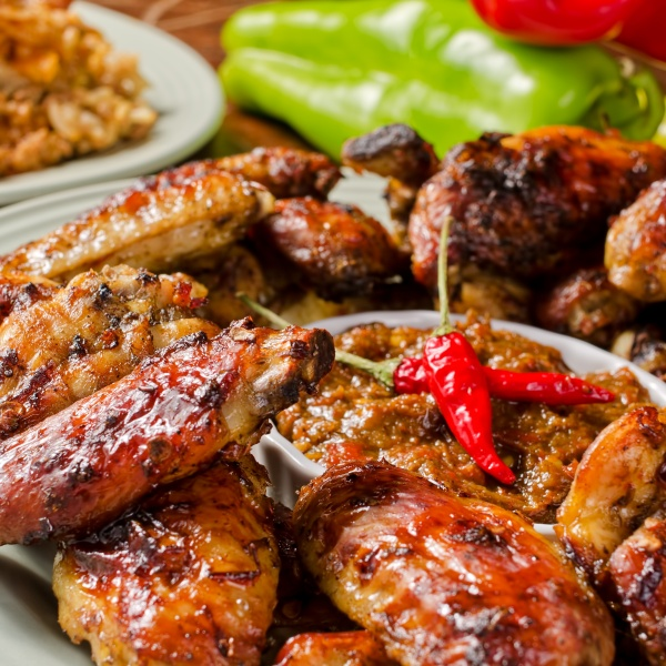 Spicy Air-fried Chicken Wings